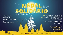 Cartel do Nadal Solidario.